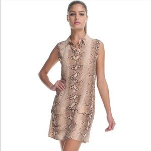 Equipment | Lucida Snakeskin Dress
